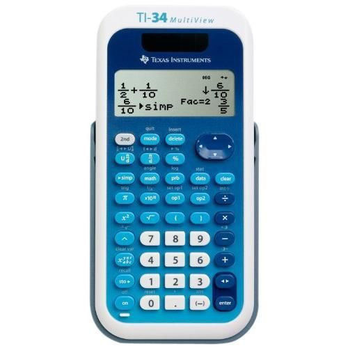 Image For Texas Instruments: TI-34 <I>MultiView</I> Calculator
