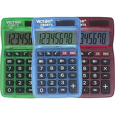 Image For Victor: 700BTS Pocket Calculator