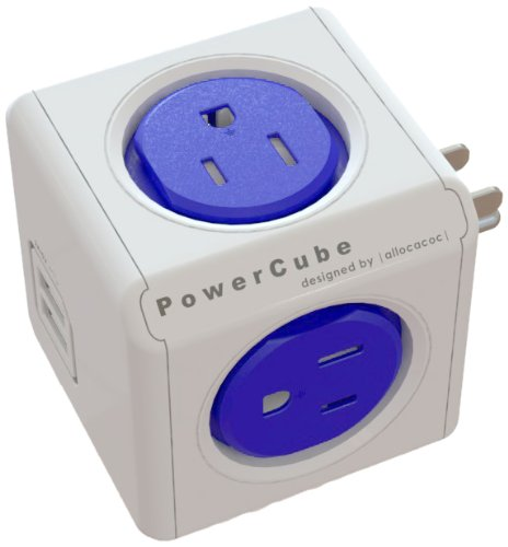 Image For PowerCube Original USB 4 Outlet Wall Adapter
