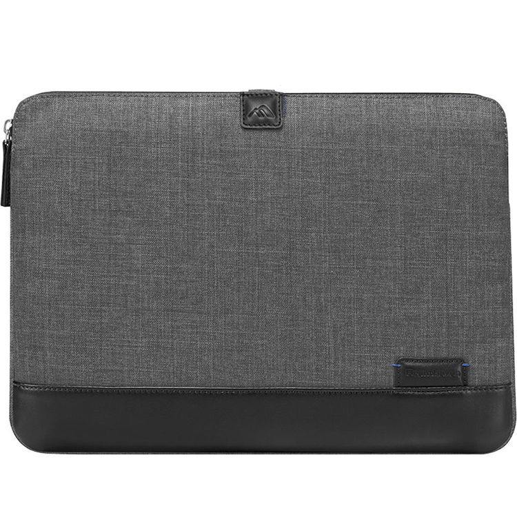 "Image For 15.4"" Collins Sleeve II - Charcoal"