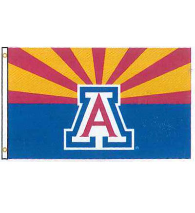 Image For Flag: Arizona 3'X5' DuraWave Arizona State