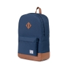 Cover Image for Herschel Heritage Navy/Tan Synthetic Leather