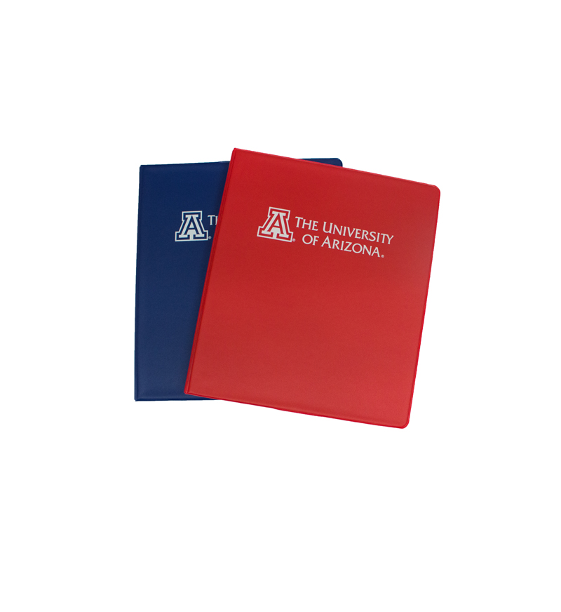 Image For Binder: 'A' The University of Arizona ½""