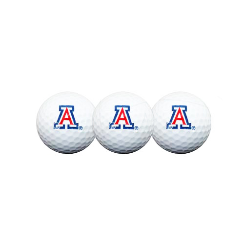 Image For White 'A' 3 Golf Ball Pack of 3