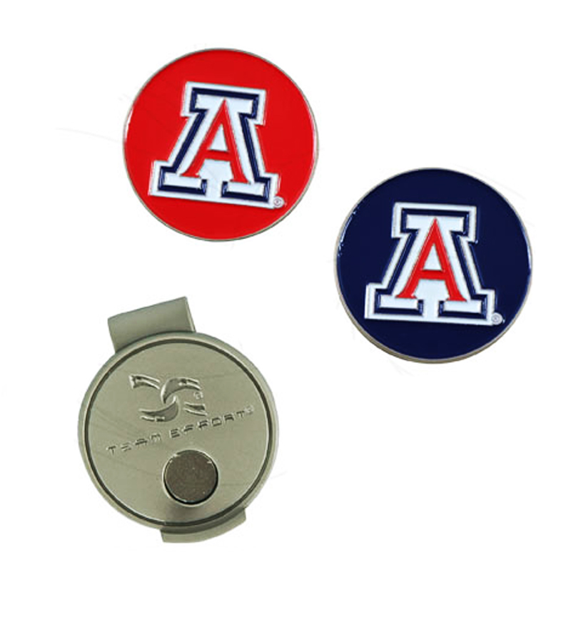Image For Arizona 'A' Ball Markers and Hat Clip