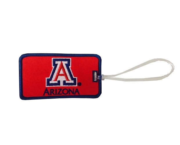 Image For 'A' Arizona Embroidered Luggage Tag