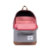 Cover Image for Herschel Pop Quiz Backpack Grey/Tan Synthetic Leather
