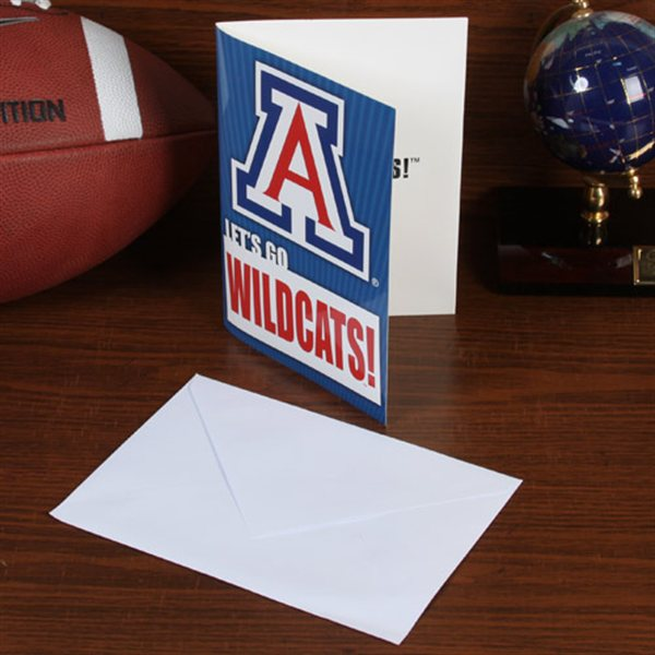 "Image For Arizona Wildcats 5"" x 7"" Musical Card"