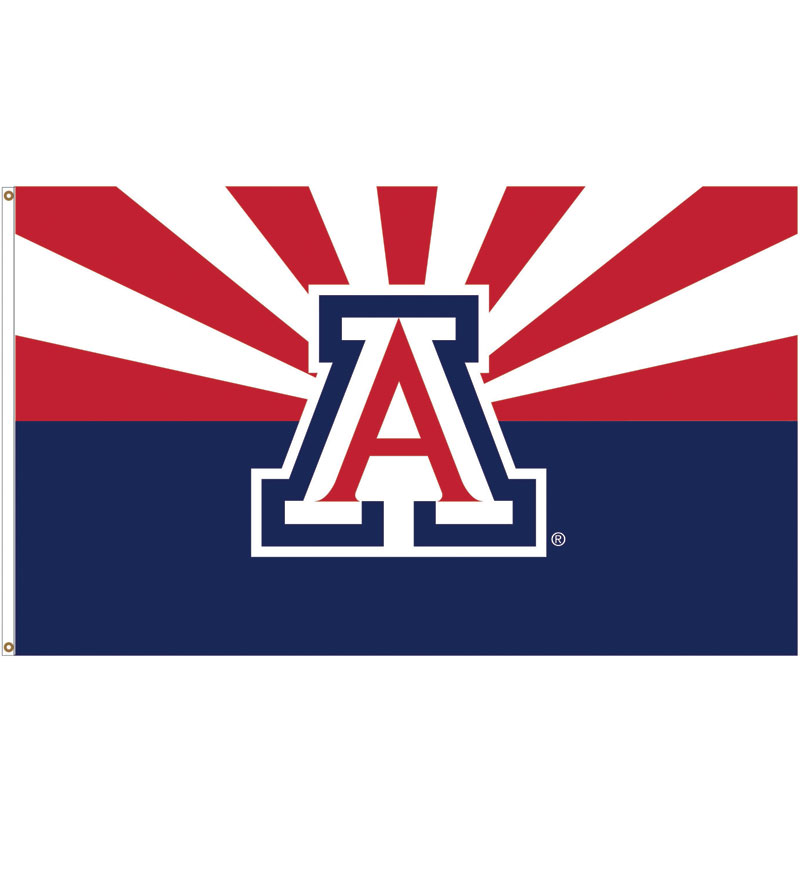 Image For Flag: Arizona Deluxe Wincraft 3' X 5'
