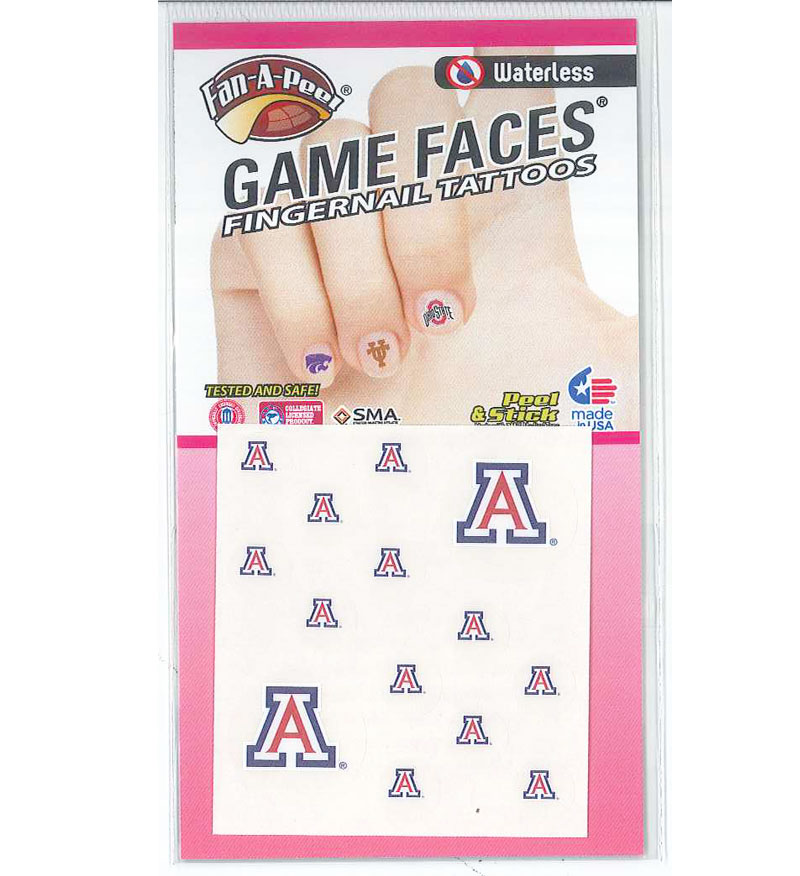 Image For Temporary Tattoos: Arizona Fingernail Waterless