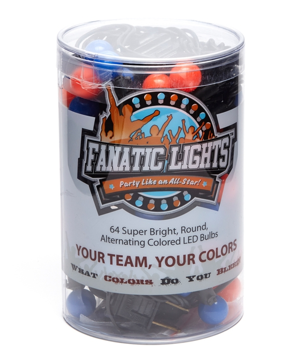 Image For Fanatic Lights Dark Blue & Red