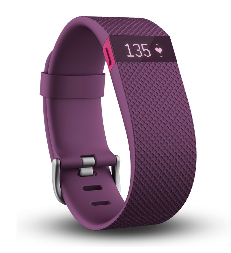 Image For Fitbit Charge HR Plum-Small
