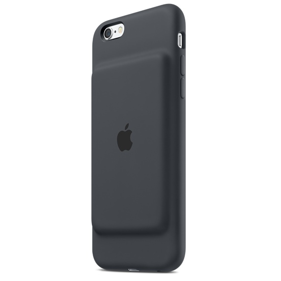 Image For Apple iPhones 6s Smart Battery Case-Charcoal Gray