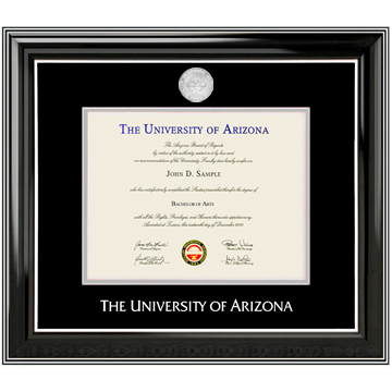 Image For Diploma Frame: Classic Silver