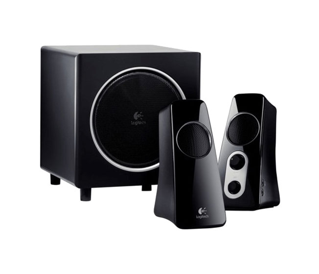 Image For Logitech: Speaker System z523 with Subwoofer