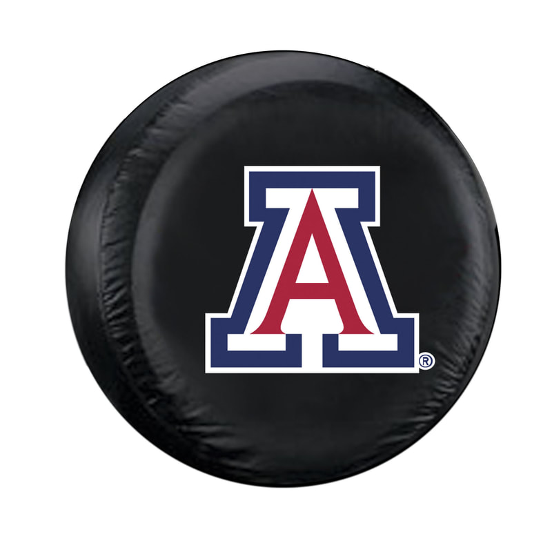 Image For Fremont Die: Arizona Deluxe Standard Black Tire Cover