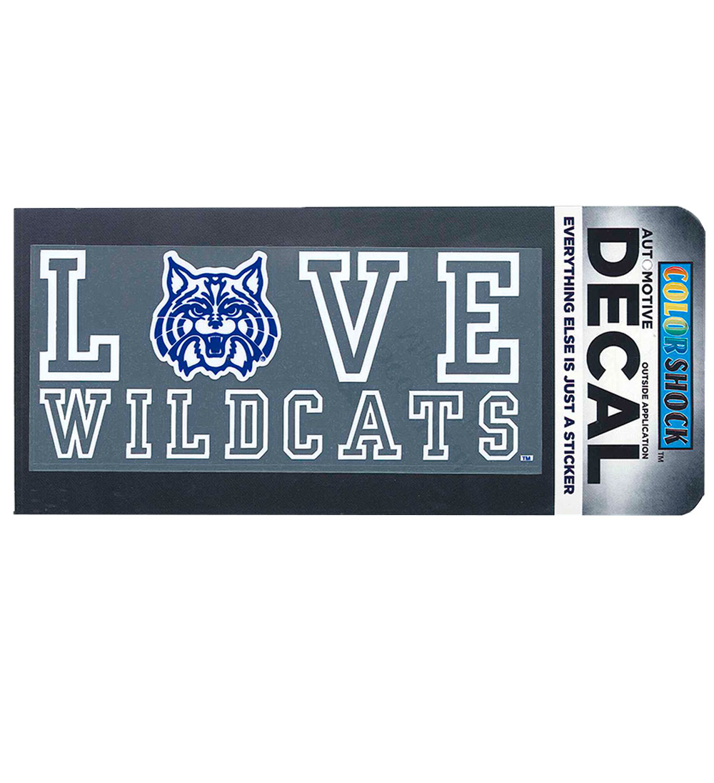 Image For Decal: I Love Wildcats
