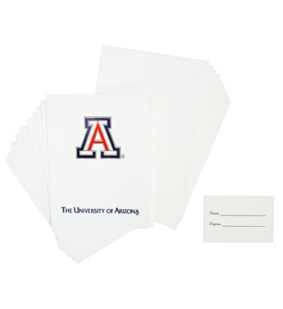 Image For UA Graduation Announcements Pack of 10