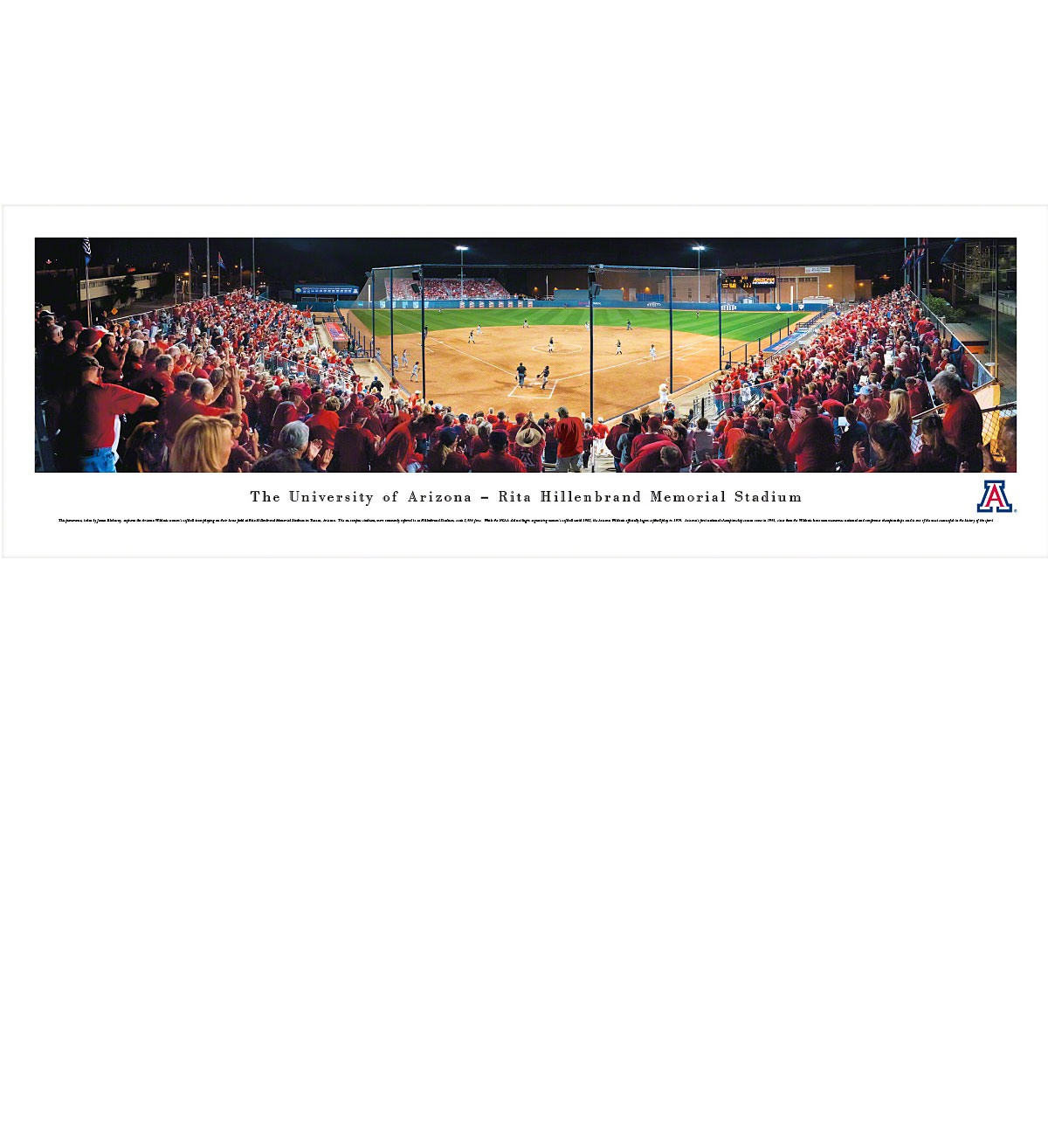 Cover Image For Arizona Panoramic Rita Hillenbrand Memorial Softball Stadium