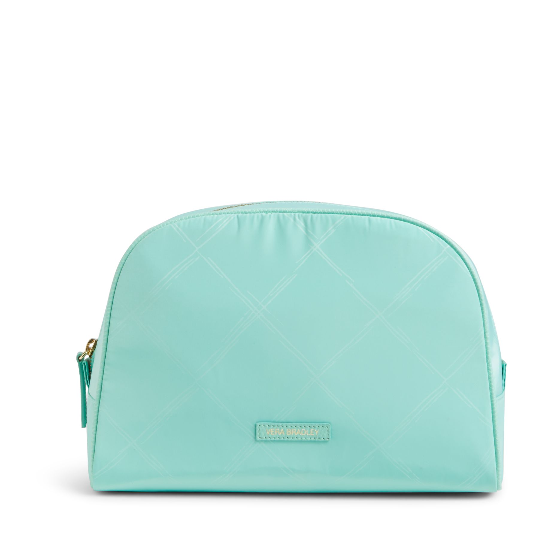 Image For Preppy Poly Large Cosmetic in Mint