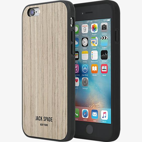 Image For Jack Spade New York: iPhone 6s/6 Wood Walnut Case