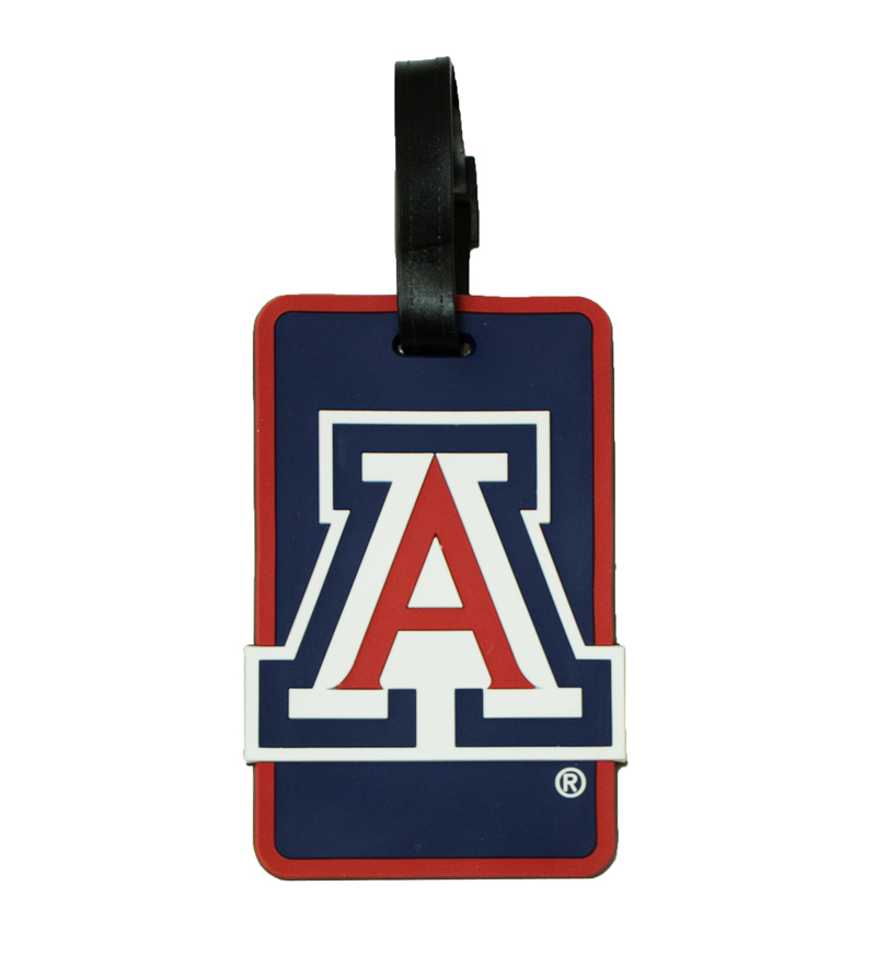 Image For 'A' Arizona Luggage Tag