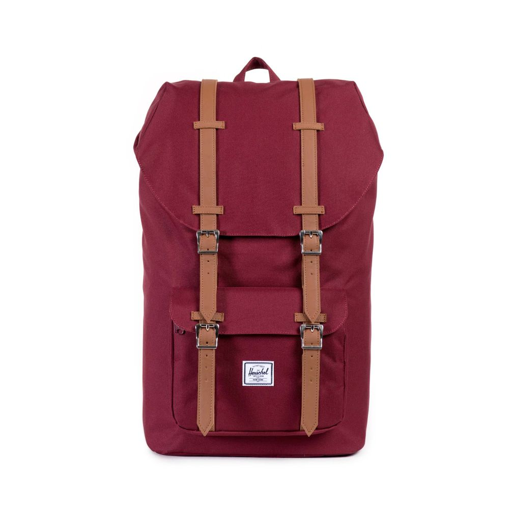 Image For Herschel Little America Backpack Windsor Wine