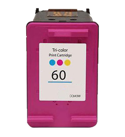 Image For HP 60 Tri-Color Ink Cartridge