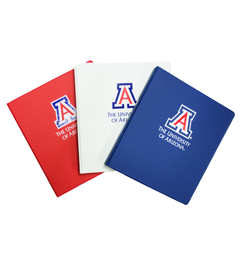 Image For Binder: 'A' The University of Arizona 1""