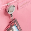 Cover Image for Blush Pink Retractable Lanyard ID Card Case
