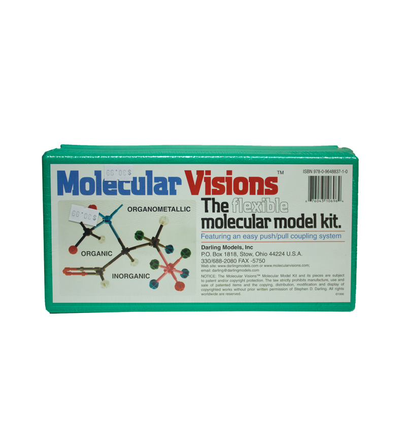 Image For Molecular Visions - The Flexible Molecular Model Kit