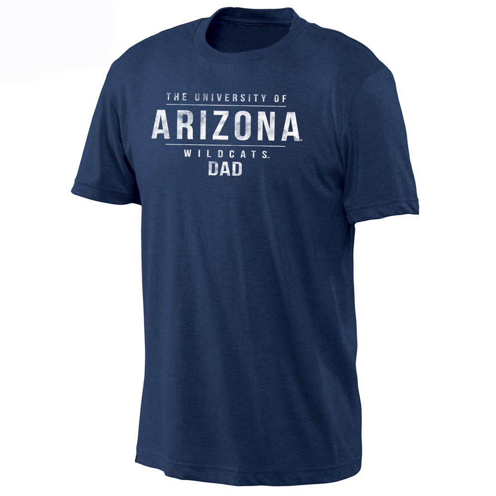 Image For Gear: The University of Arizona Wildcats Dad Tee-Navy