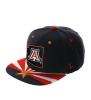 Cover Image for Arizona Wildcats Flag Snapback Hat By Zephyr
