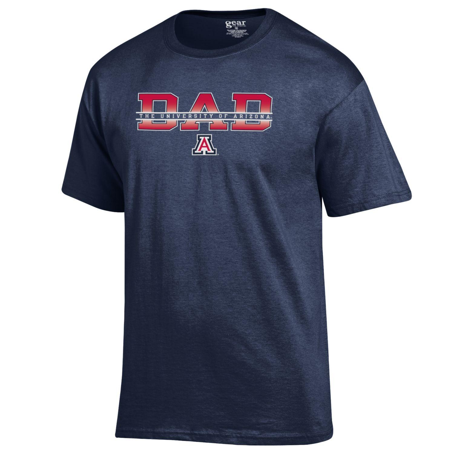 Image For Jansport: University of Arizona Dad T-Shirt Navy