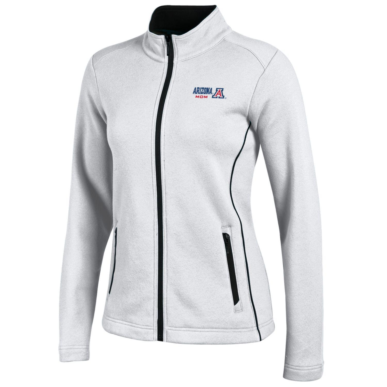 Image For Gear For Sports: Arizona Mom Deluxe Touch Full Zip White