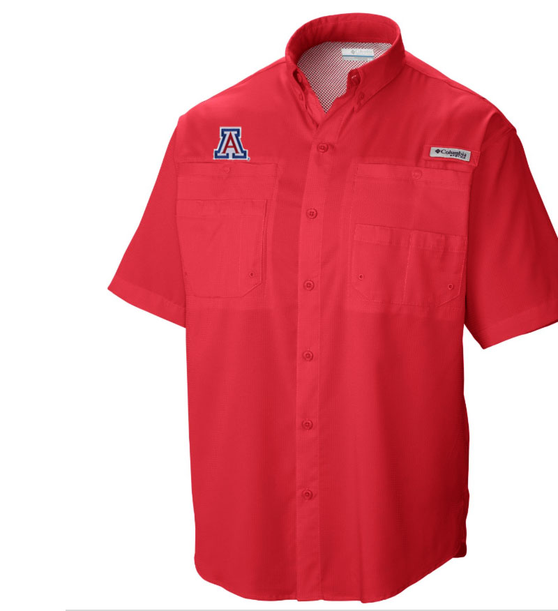 Image For Columbia: Arizona Men's PFG Tamiami™ Shirt Red