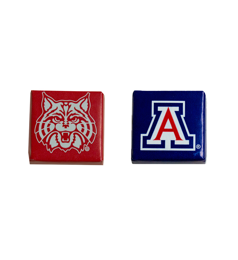 Image For 'A' & Wildcat Chocolate Square