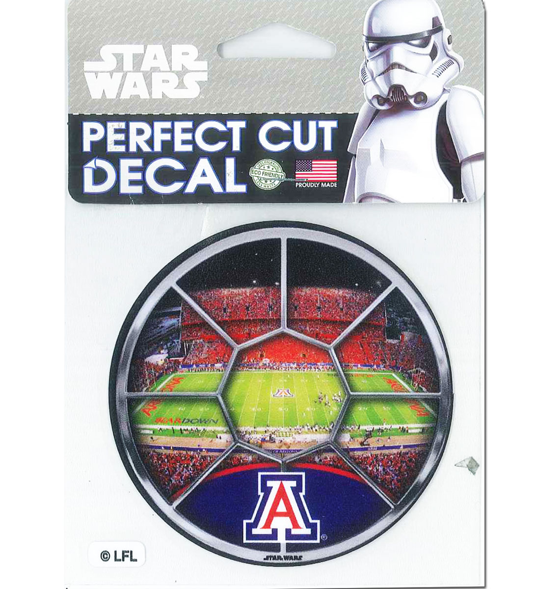 Image For Decal: Arizona Stadium Star Wars