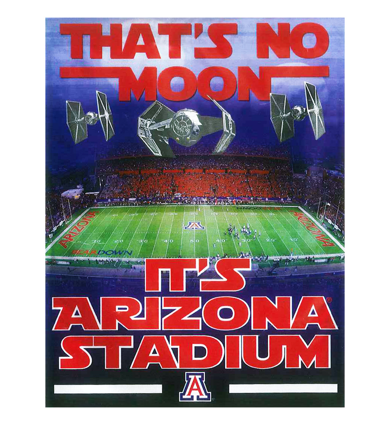 Image For Banner: Star Wars That's No Moon, It's Arizona Stadium