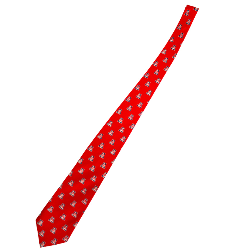 Image For Jardine Collection: Arizona Block 'A' Tie Red