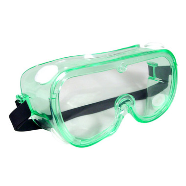 Image For Lab Googles: Radians Safety Goggle GG0111ID Clear Anti-Fog