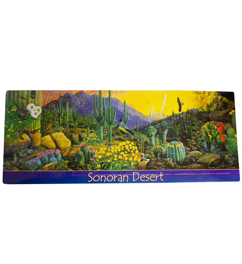 Image For Impact Photographics: Sonoran Desert 50 Piece Puzzle