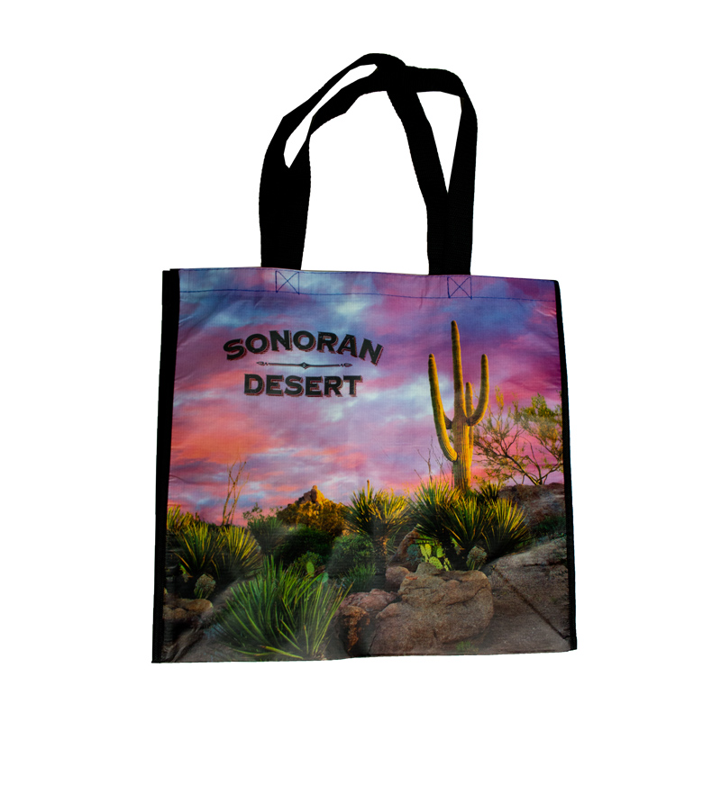 Image For Impact Photographics: Sonoran Desert Recycle Bag