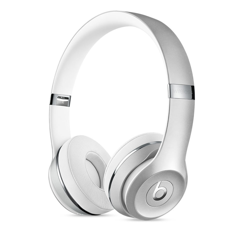 Cover Image For Beats Solo3 Wireless On-Ear Headphones – Silver
