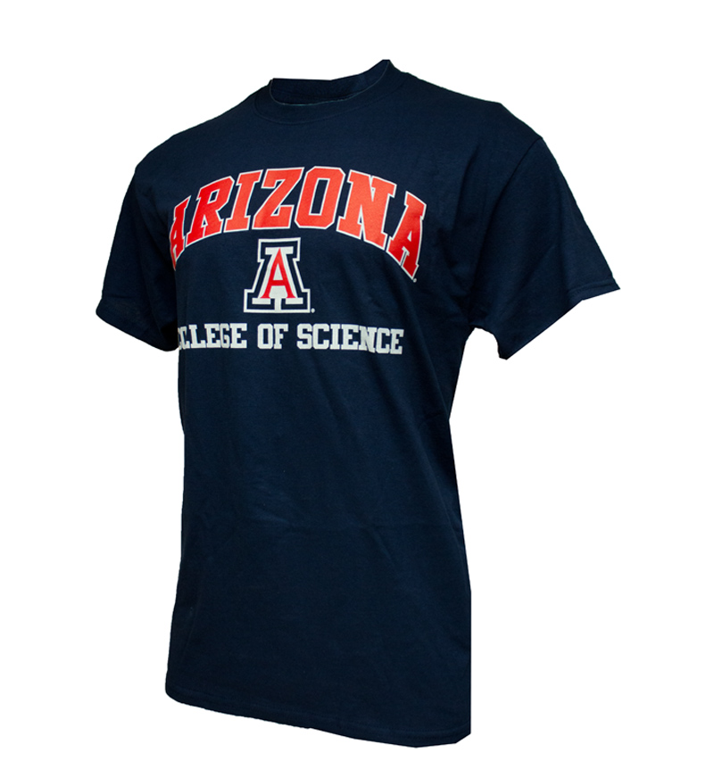 Image For </b> Arizona - College of Science <br> Navy T-Shirt