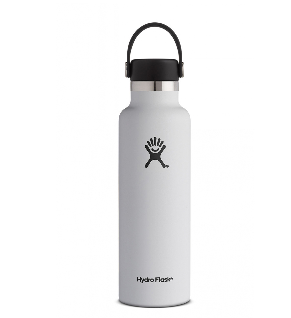 Image For Hydro Flask: 21 oz Standard Mouth Flex Cap-White