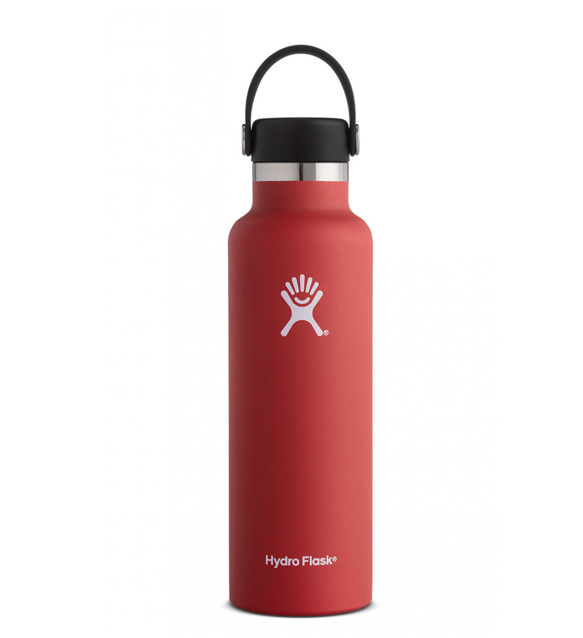Image For Hydro Flask: 21 oz Standard Mouth Flex Cap-Lava