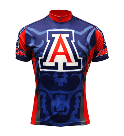 Image For Adrenaline Cycling Arizona Bear Down Jersey