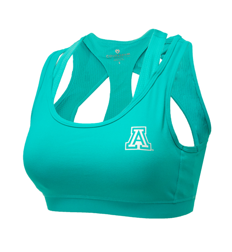 Image For Colosseum: Arizona Women's Uptempo Energy Bra - Teal