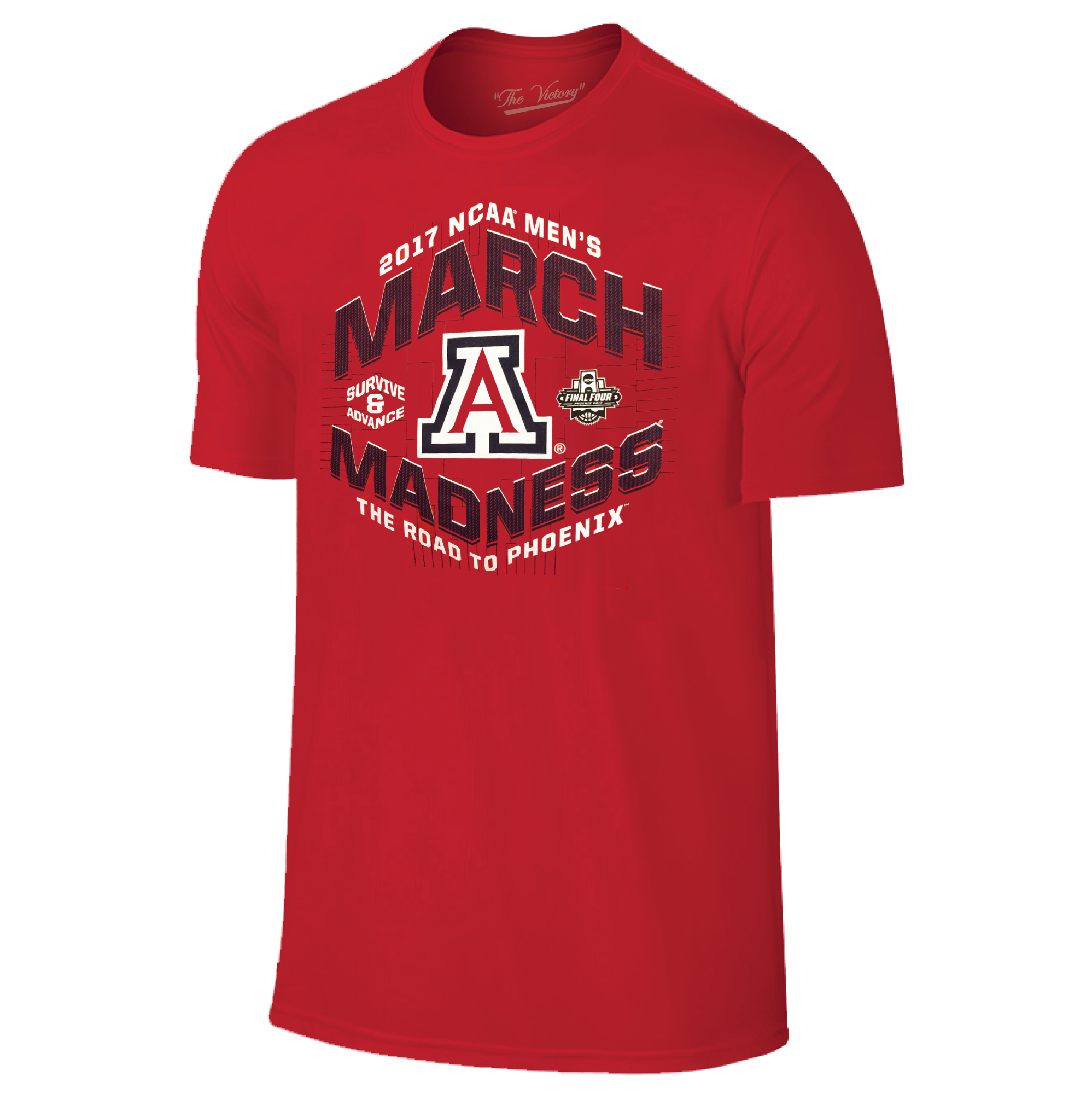 Image For 2017 Arizona March Madness Road to Phoenix Tee